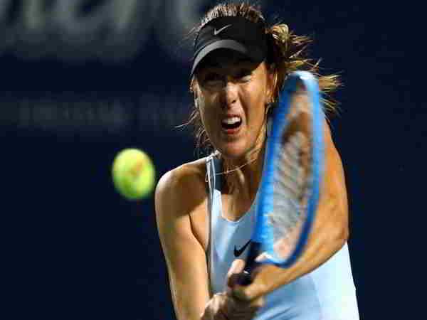 Maria Sharapova thất bại đau đơn tại Rogers Cup
