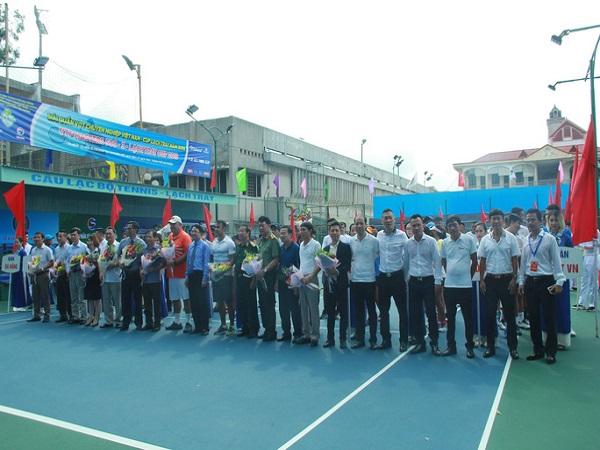 Khai mạc giải quần vợt chuyên nghiệp Việt Nam năm 2019