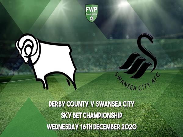 Soi kèo Derby County vs Swansea, 0h30 ngày 17/12