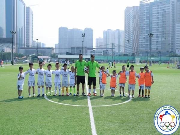 Top 7 trung tâm đào tạo bóng đá tốt nhất ở Hà Nội hiện nay