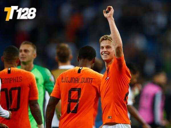 Đội tuyển Hà Lan đã vượt qua Đức tại vòng loại Euro 2020 vừa qua