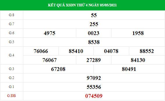 Soi cầu XS Đồng Nai chính xác thứ 4 ngày 12/05/2021